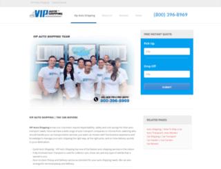vipautoshipping.com screenshot