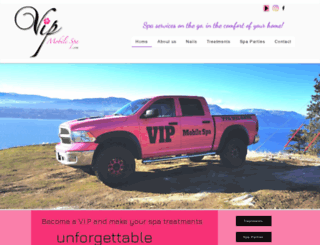 vipmobilespa.com screenshot