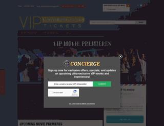 vipmoviepremieretickets.com screenshot
