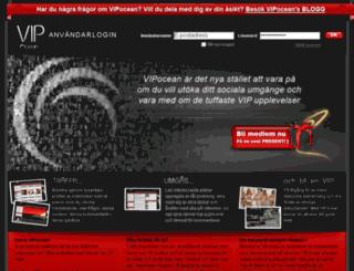 vipocean.se screenshot