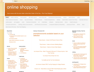 viponlineshoppin.blogspot.com screenshot