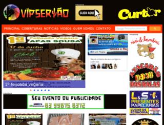 vipsertao.com.br screenshot