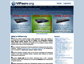 vipserv.org screenshot