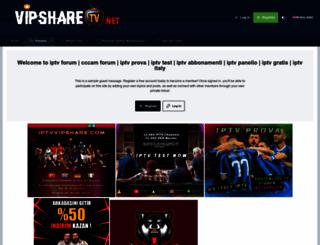 vipsharetv.net screenshot