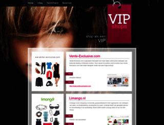 vipshops.nl screenshot