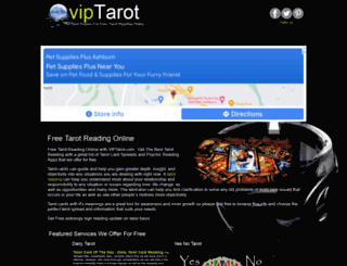 viptarot.com screenshot