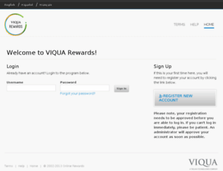 viquarewards.com screenshot