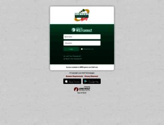 vir702-connect.globalwolfweb.com screenshot