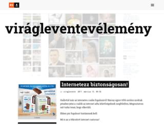 viraglevente.reblog.hu screenshot