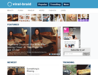 viral-braid.com screenshot