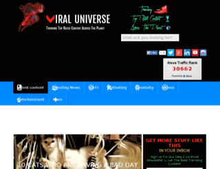 viral-universe.com screenshot