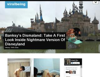viralbeing.net screenshot
