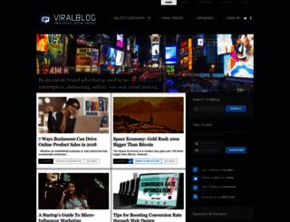 viralblog.com screenshot