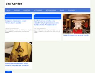 viralcurioso.blogspot.pe screenshot