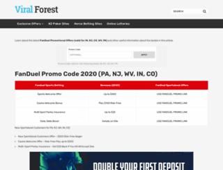 viralforest.com screenshot