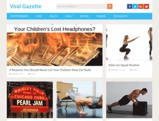 viralgazette.com screenshot