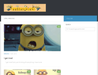 viralminions.com screenshot
