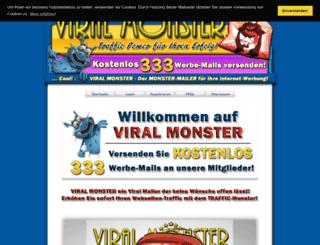 viralmonster.de screenshot