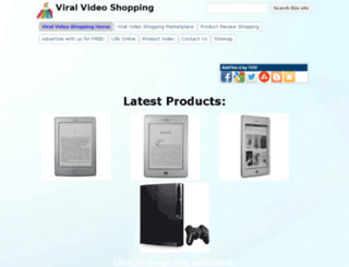 viralvideoshopping.com screenshot