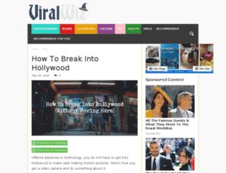viralwiz.com screenshot
