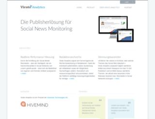 virato-analytics.de screenshot