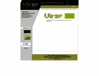 viref.udea.edu.co screenshot