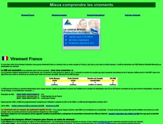 virements.online.fr screenshot