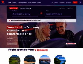 virginaustralia.com screenshot