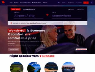 virginblue.com.au screenshot
