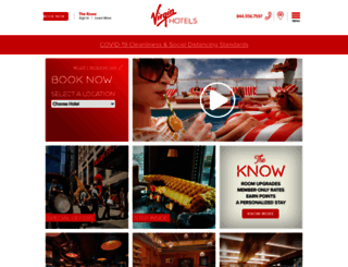 virginhotels.com screenshot