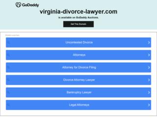 virginia-divorce-lawyer.com screenshot