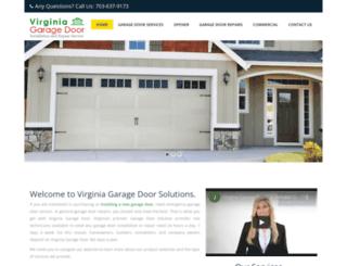 virginia-garagedoor.com screenshot