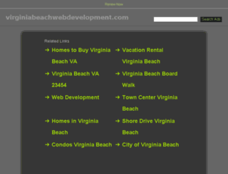 virginiabeachwebdevelopment.com screenshot