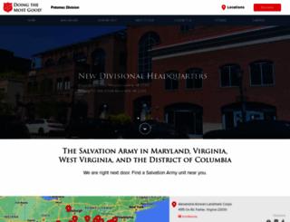 virginiasalvationarmy.org screenshot
