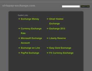 virtapay-exchange.com screenshot