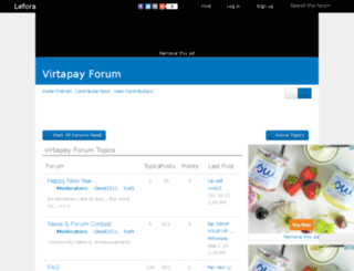 virtapay.lefora.com screenshot