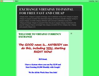 virtapay2paypaleasyconverter.blogspot.in screenshot