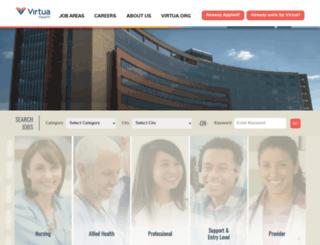 virtuacareers.com screenshot