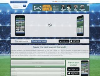 virtuafoot.com screenshot