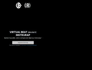 virtual-beat.com screenshot