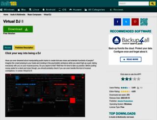 virtual-dj.soft112.com screenshot