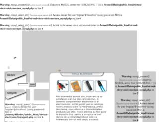 virtual-electronic.ro screenshot