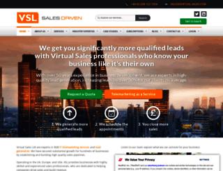 virtual-sales.com screenshot
