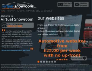 virtual-showroom.co.uk screenshot