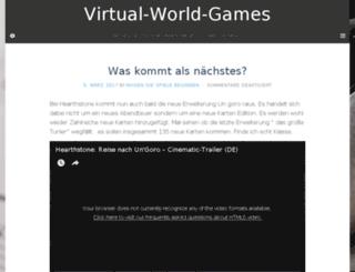 virtual-world-games.com screenshot