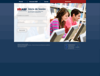 virtual.aiep.cl screenshot