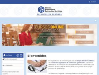 virtual.escueladenegocios.edu.ar screenshot