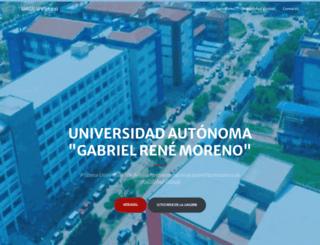 virtual.uagrm.edu.bo screenshot