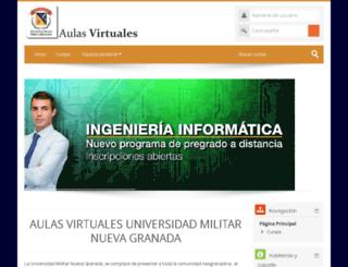 virtual.umng.edu.co screenshot