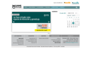 virtual.unne.edu.ar screenshot